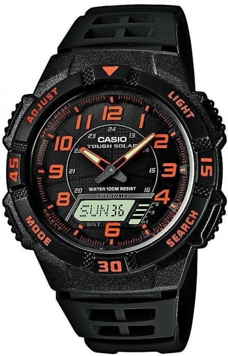 Мужские часы CASIO AQ-S800W-1B2 AQ-S800W-1B2VEF