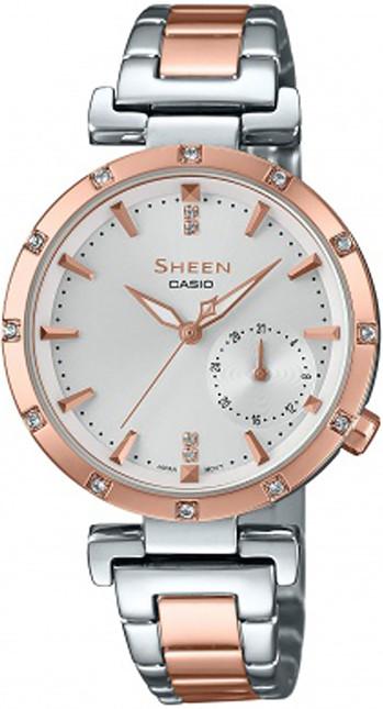 Женские часы CASIO SHE-4051SPG-7AUER