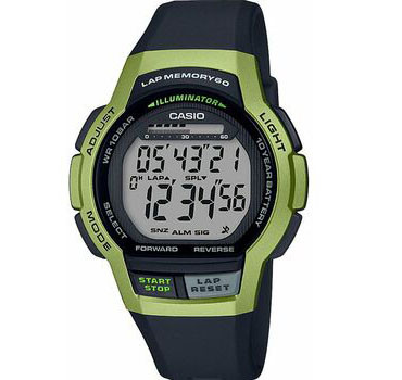 Мужские часы Casio WS-1000H-3AVEF