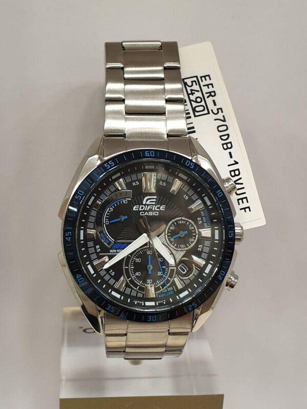 Мужские часы CASIO EDIFICE EFR-570DB-1BVUEF